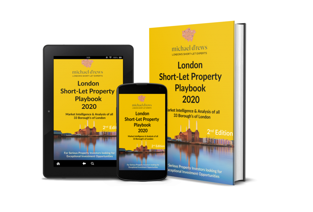 London Short-Let Property Playbook 2020 Image of Front Cover